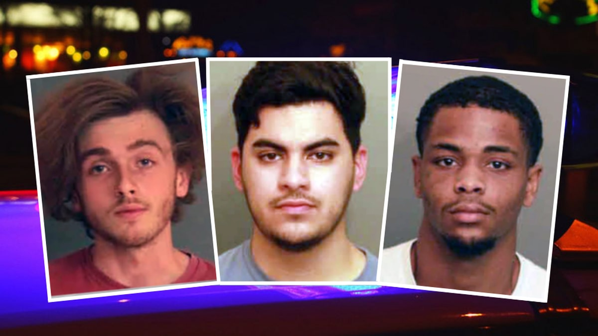 Left to right: Charles Wilson of Gilbert, S.C., Oziel Lara of Saluda, S.C., and Jeremiah Booker...