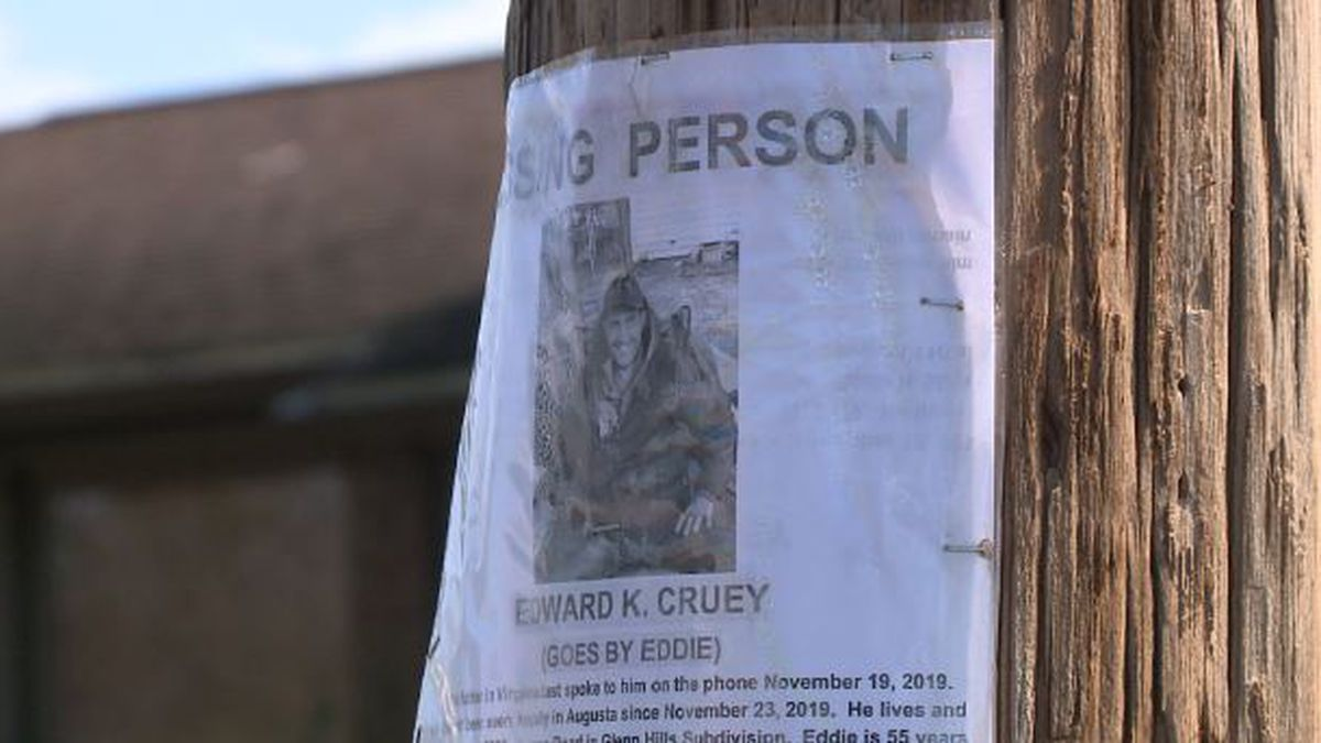 Eddie Cruey has been missing since Nov. 19. His family fears the worst. (Source: WRDW)