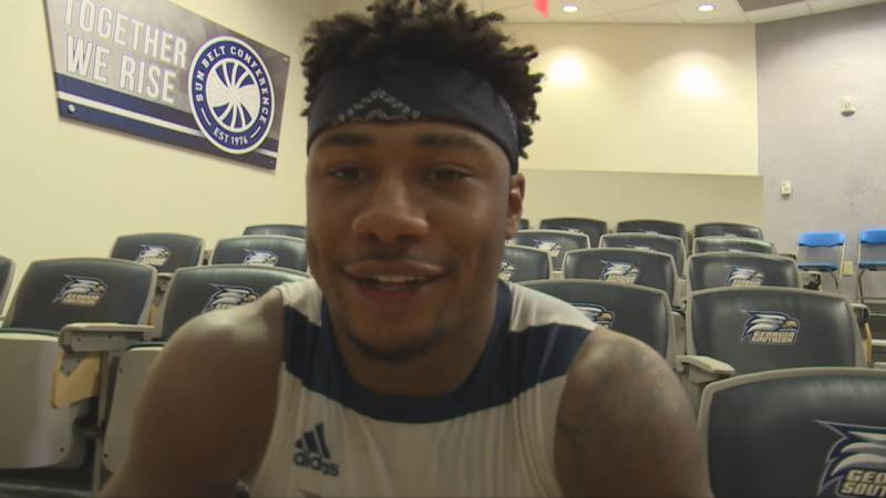 Wesley Kennedy III during his time at Georgia Southern.