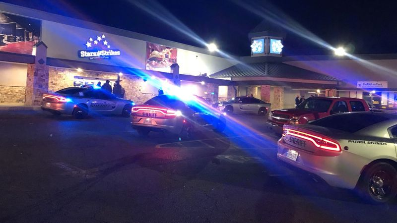One person was shot following a large fight inside Stars and Strikes in Augusta Saturday.
