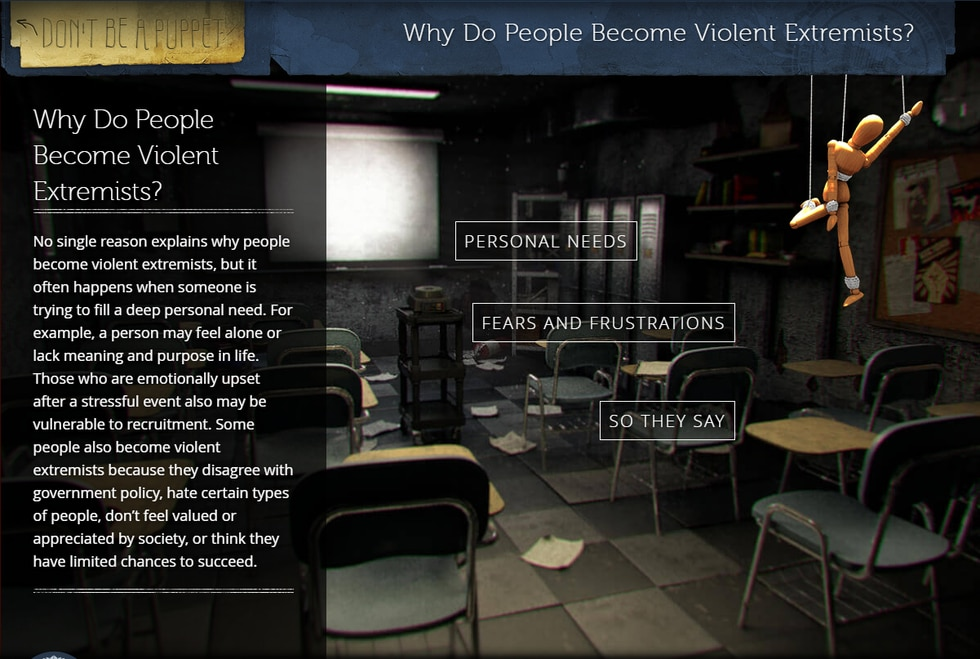 The FBI has provided an online guide to countering violent extremism.