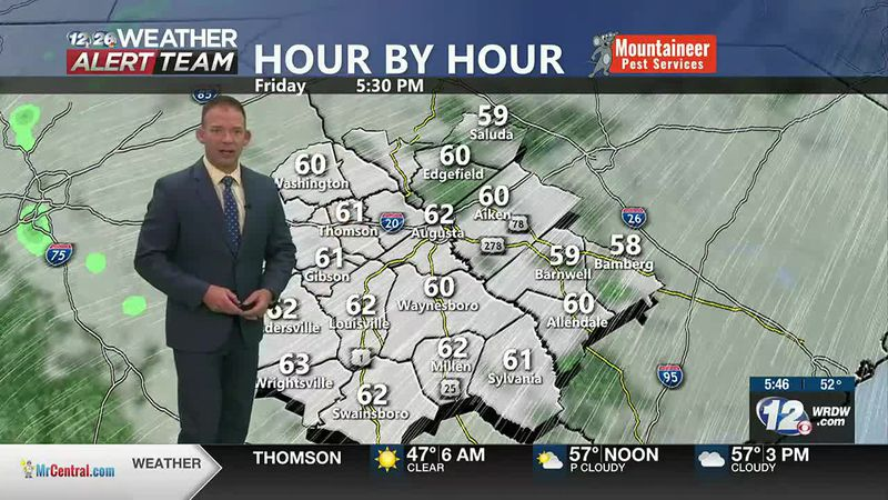 Increasing Clouds, Breezy and Cool