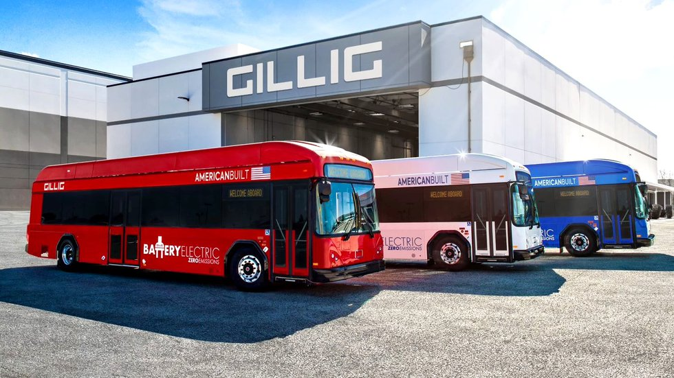 GILLIG is bringing an electric battery bus to Augusta so residents can try it out.