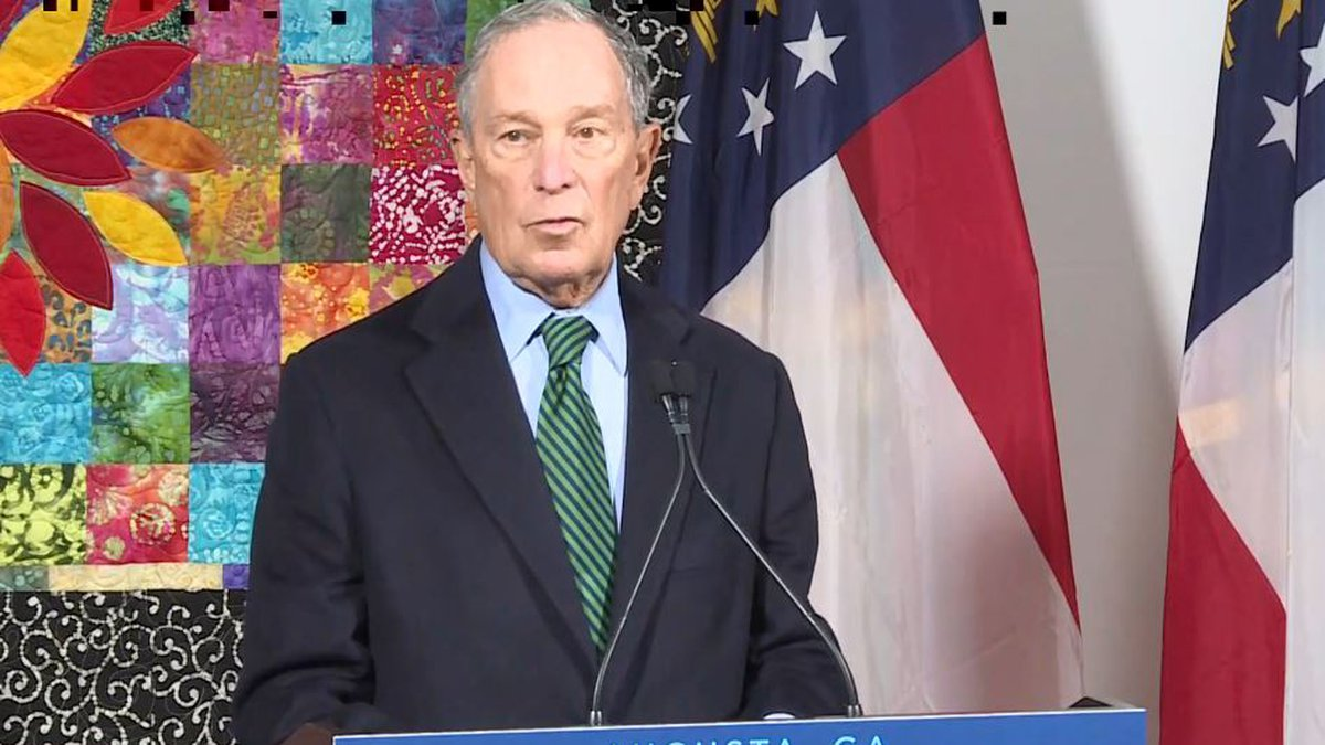 Making one of his first presidential campaign appearances in Georgia, former New York City...