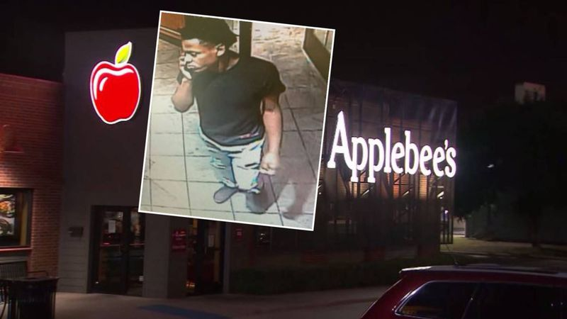 Authorities are seeking this subject for questioning about a shooting at Applebee's.