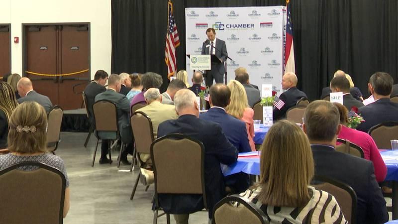 Columbia County Chamber of Commerce held its annual post legislative breakfast on Wednesday...