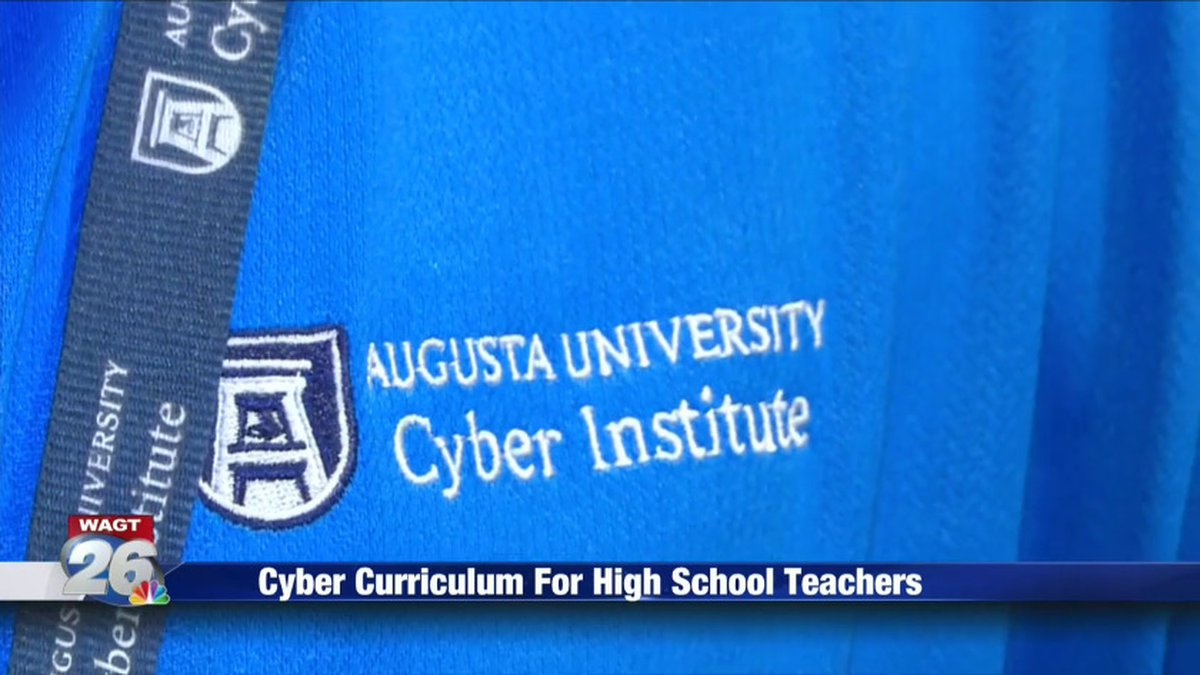 Augusta University's Cyber Institute is giving local teachers the tools they need to prep...