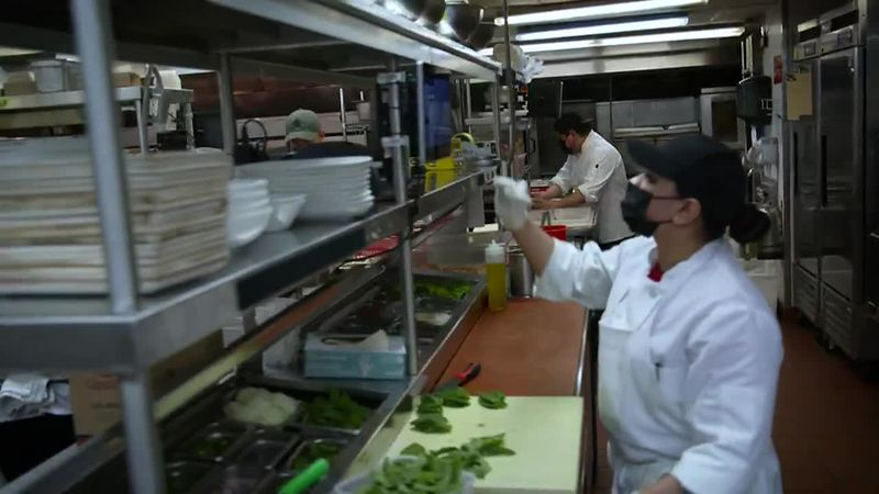 Restaurant owners say they can't find enough people willing to work in food service during the...