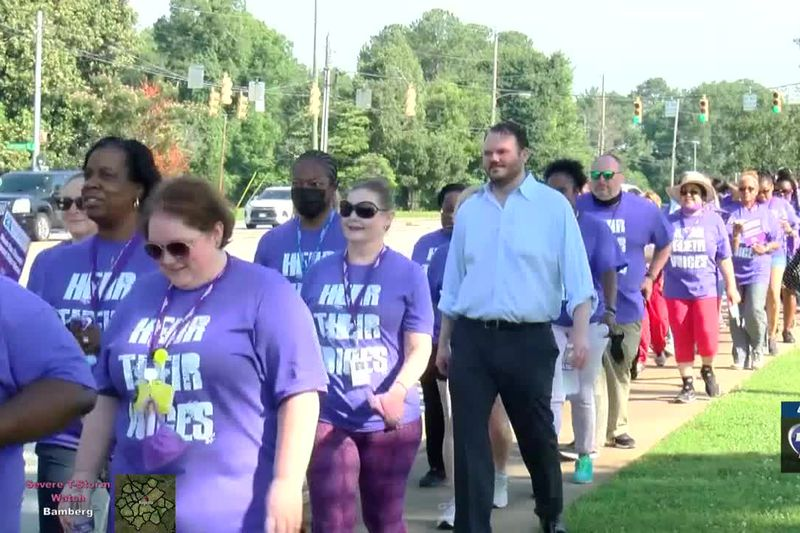 March for elder abuse awareness day