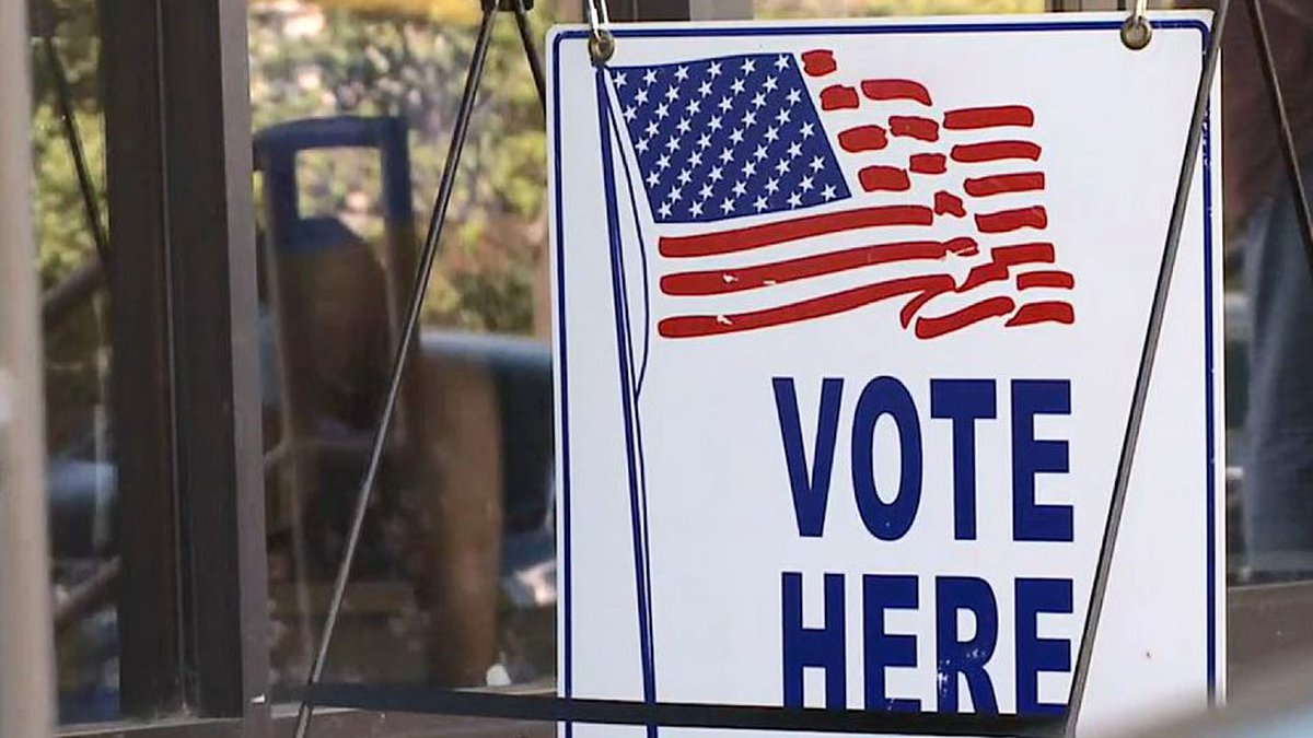 Early voting is still open at the Bell Auditorium in downtown Augusta.