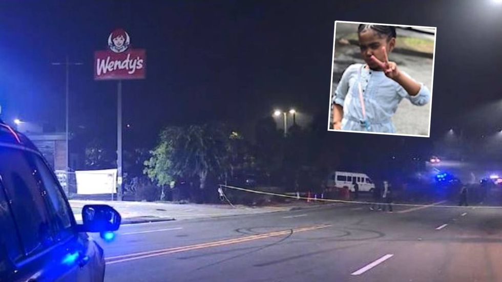 Secoriea Turner (inset) was killed in a shooting near the Atlanta Wendy's where Rayshard Brooks...