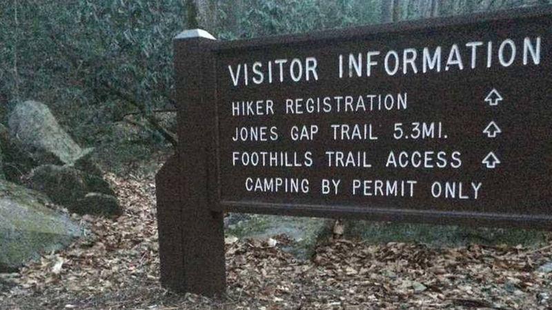 Jones Gap State Park in South Carolina