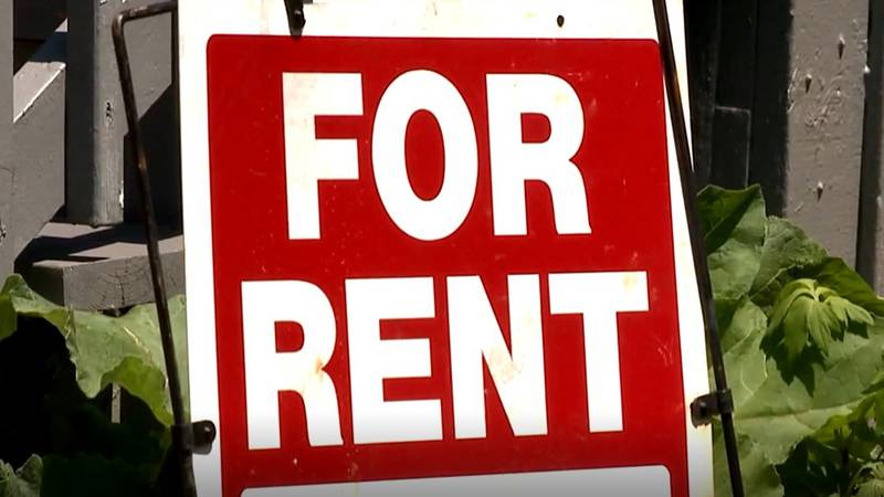 """FILE — A """"for rent"""" sign is pictured in this undated file photo."""