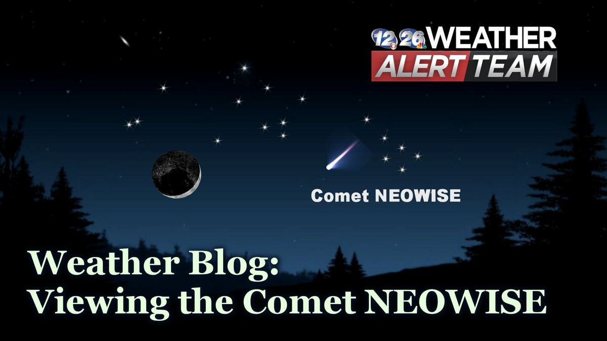 This Comet will be visible through mid to late July as long as skies are clear.