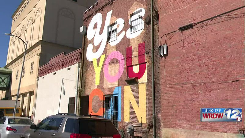 Check out the latest piece of art in Augusta