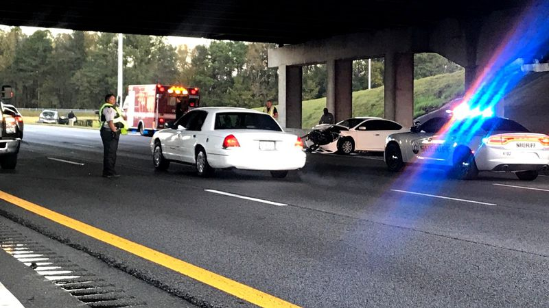 This was the scene on Nov. 30, 2020, after a multiple-vehicle crash on westbound Interstate 520...