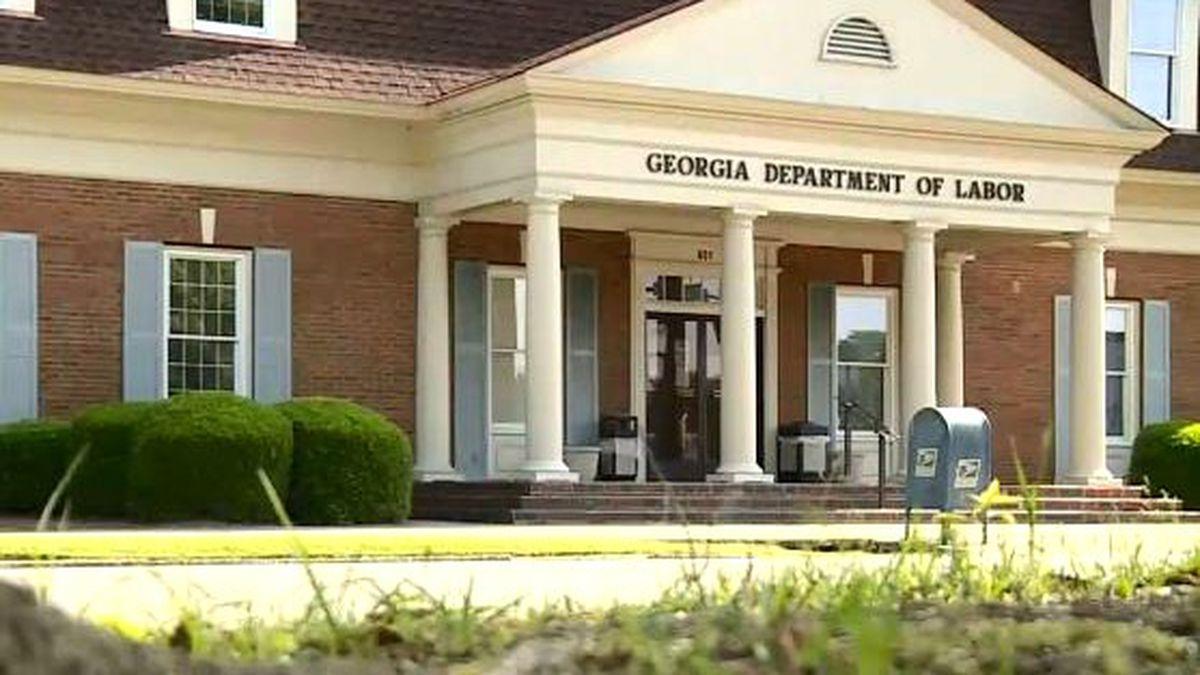 Georgia Department of Labor office in Augusta.