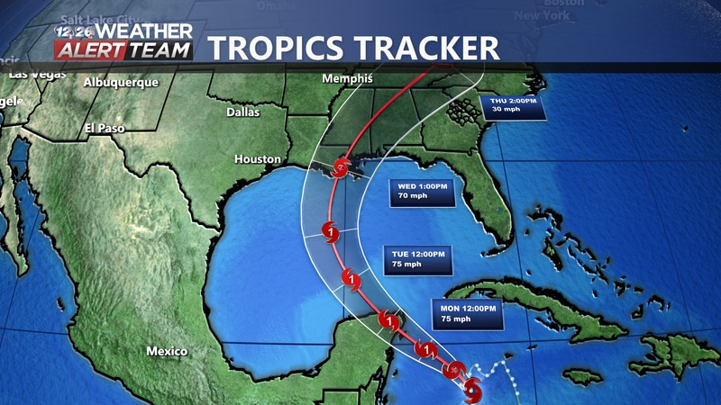 Tropical Storm Zeta will likely become a hurricane by tomorrow and make landfall in Mexico.