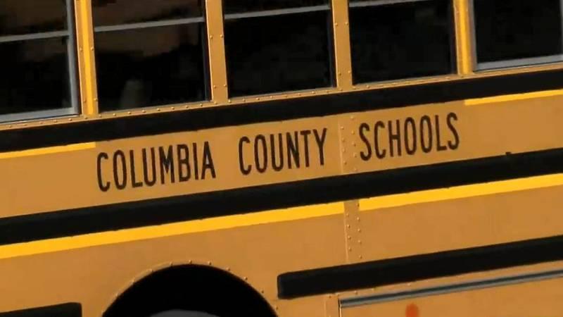 Columbia County school bus