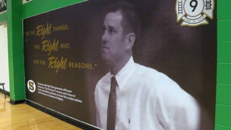 Basketball coach Louis Mulkey was inducted into the Summerville High School Athletic Hall of...