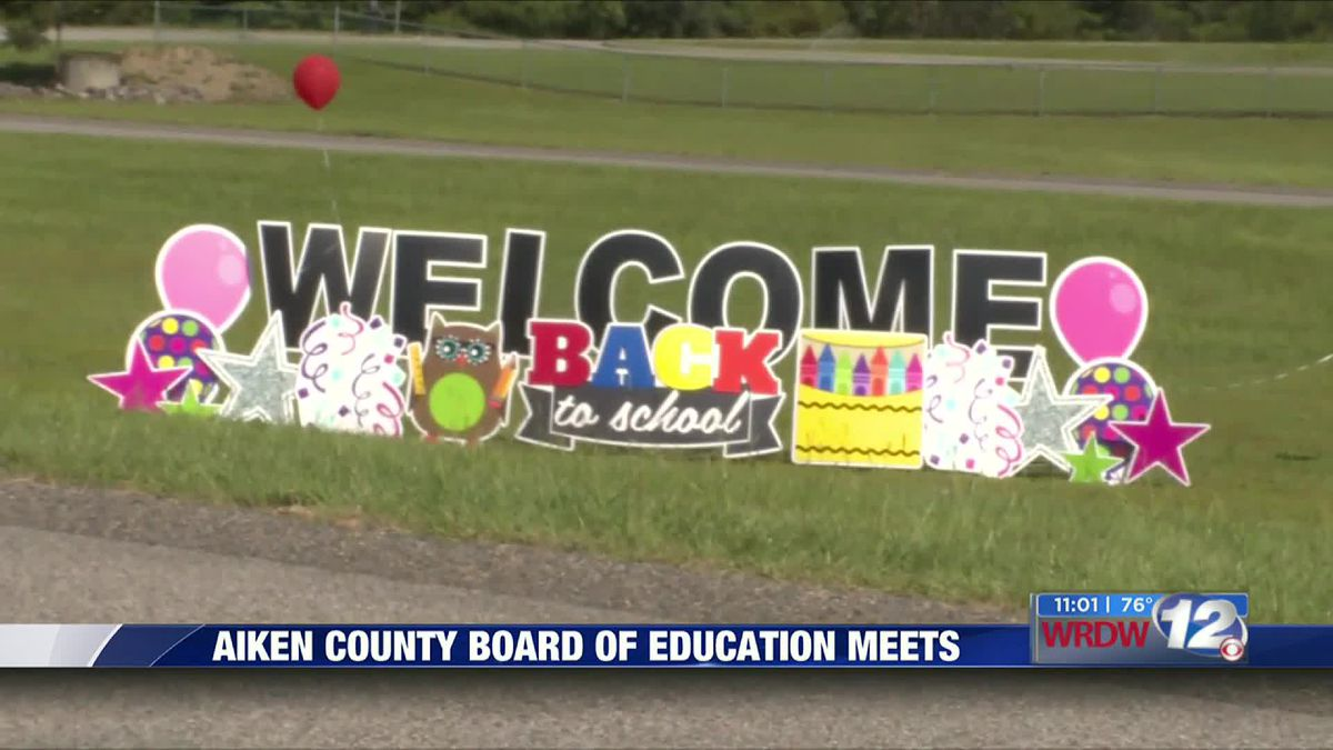 Aiken County BOE delays return to in-person learning for elementary