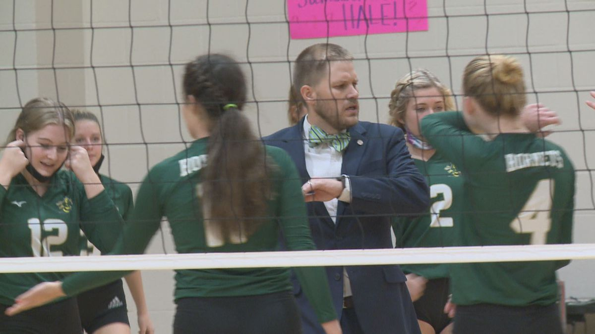 Aiken head volleyball coach Jeremy Rinder is continuing the success of the Aiken volleyball team.
