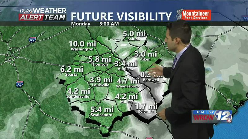 Patchy Fog Tomorrow Morning