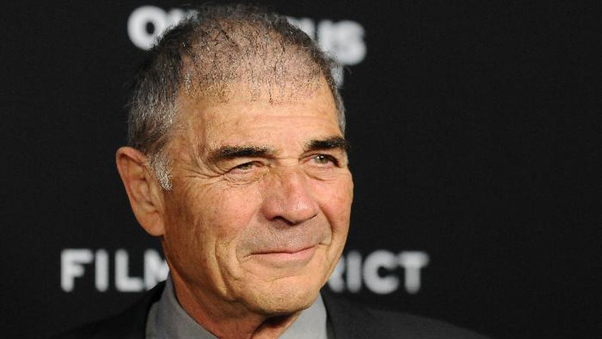 FILE - In this Monday, March 18, 2013 file photo, Robert Forster arrives at the LA premiere of &amp;quot;Olympus Has Fallen&amp;quot; at the ArcLight Theatre in Los Angeles. Forster, the handsome character actor who got a career resurgence and Oscar-nomination for playing bail bondsman Max Cherry in &amp;quot;Jackie Brown,&amp;quot; has died at age 78.<br />Forster's agent Julia Buchwald says he died Friday, Oct. 11, 2019, at home in Los Angeles of brain cancer.<br /> (Photo by Jordan Strauss/Invision/AP, File)