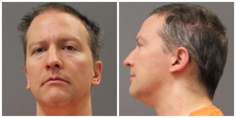 Derek Chauvin prison booking photo