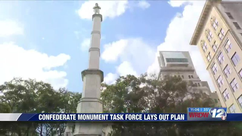 Confederate monument task force lays out plan