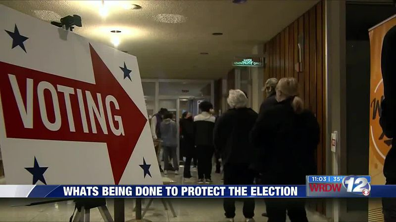 What is being done to protect the election
