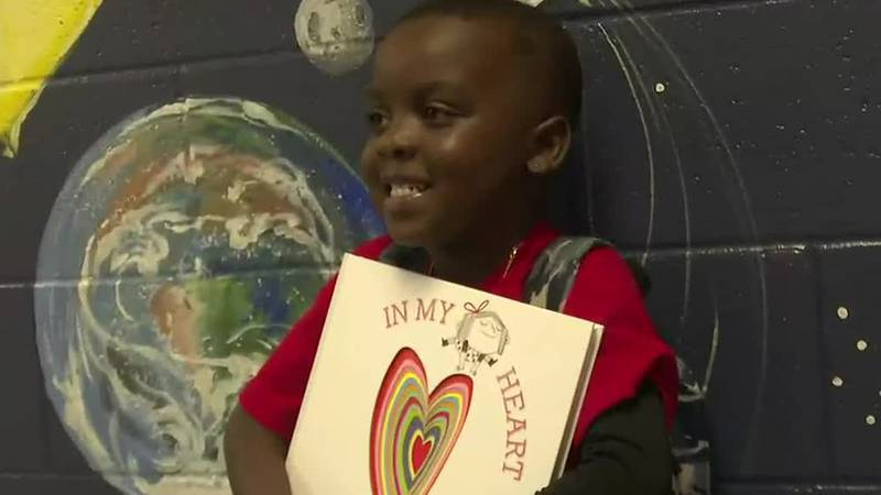 And he's off to Charleston! You may remember Lamere Johnson the first grader at Johnston...