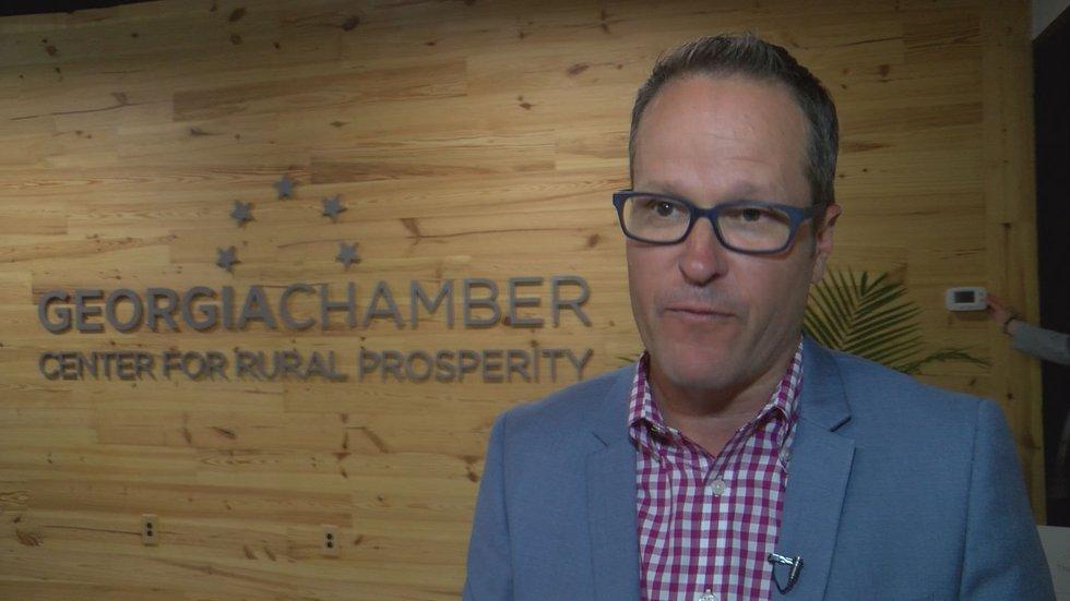 Georgia Chamber President and CEO Chris Clark (Source: WALB)