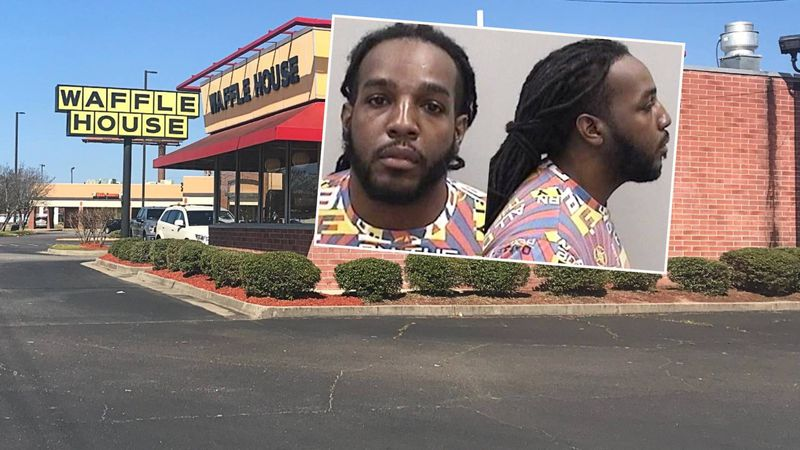 Andrew Deon Gaines is a suspect in a fatal shooting at the Waffle House on Gordon Highway in...