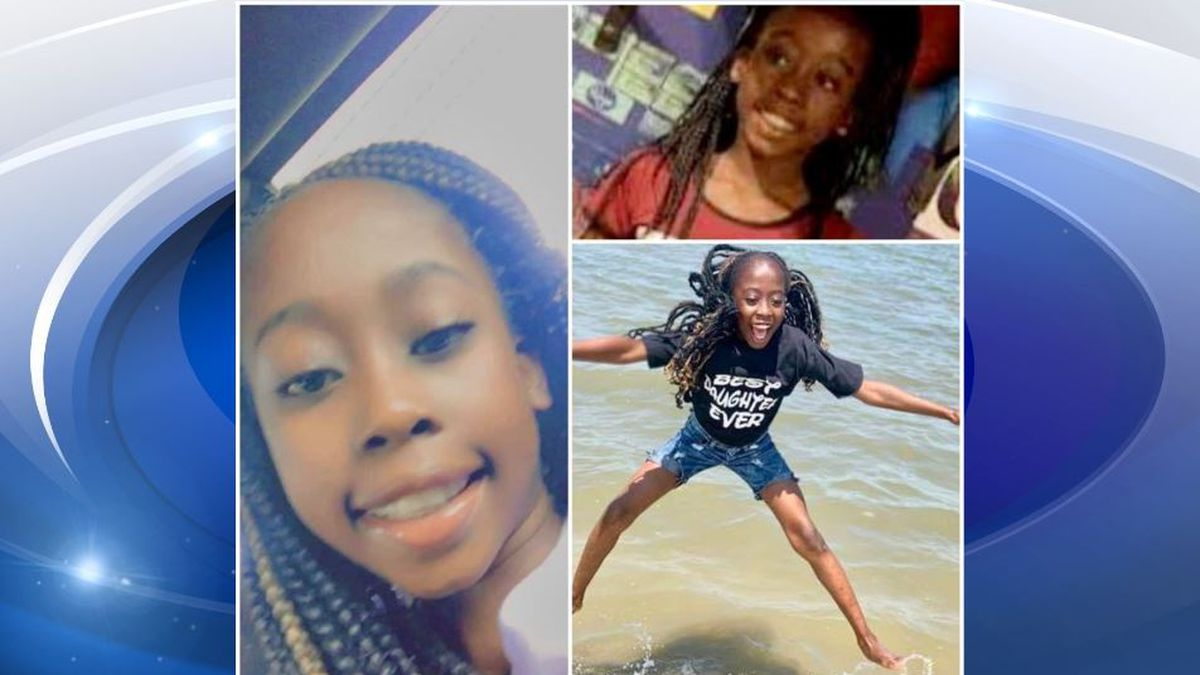 11-year-old Charnia Eccleston was killed in a crash Monday.