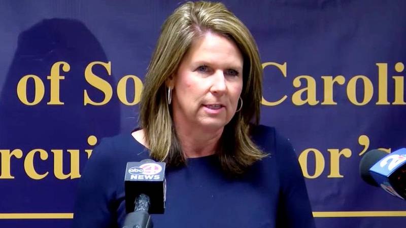 Ninth Circuit Solicitor Scarlett Wilson holds a news conference on the investigation into Jamal...