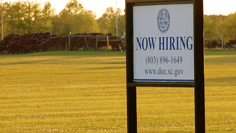 As cases rise in the community, nurses with the South Carolina Department of Corrections are...