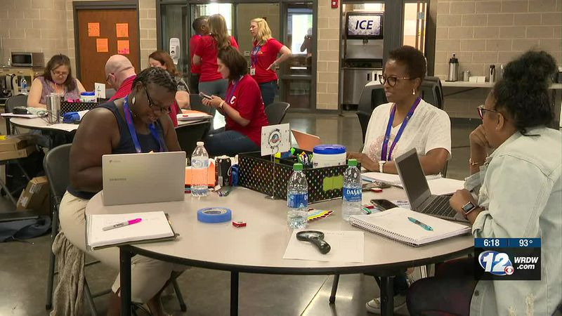 A cyber camp for teachers to help future students interested in cybersecurity is going on all...