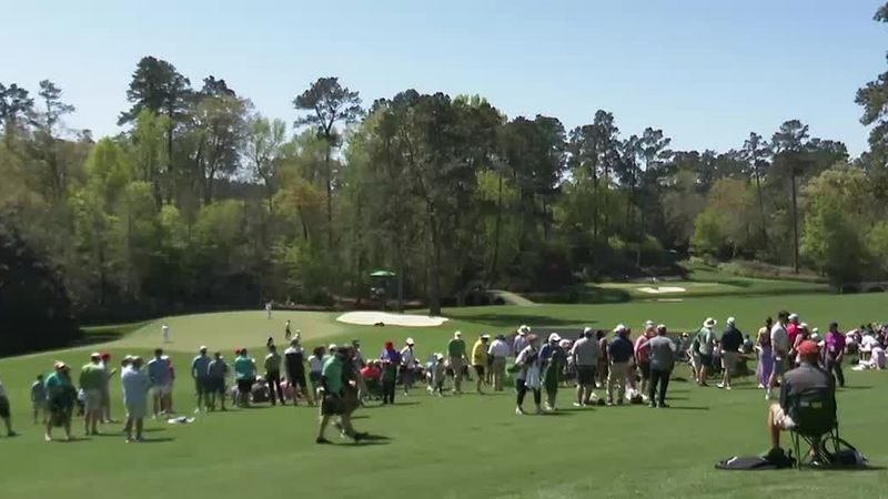 Day 1 at the Masters with limited patrons brings a sense of hope