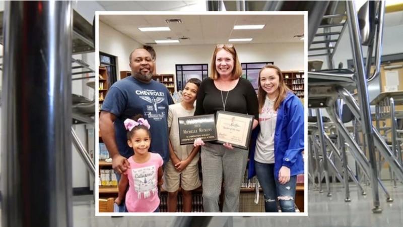 Michelle Mickens, an English teacher at Washington-Wilkes Comprehensive High School was named a...
