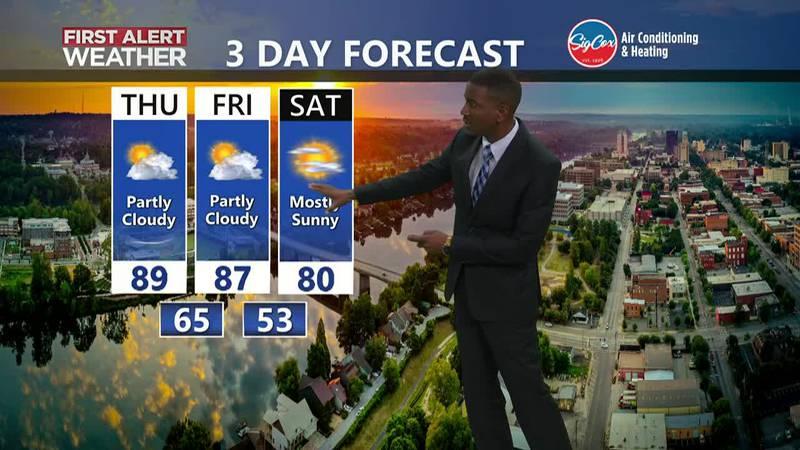 Warm Thursday