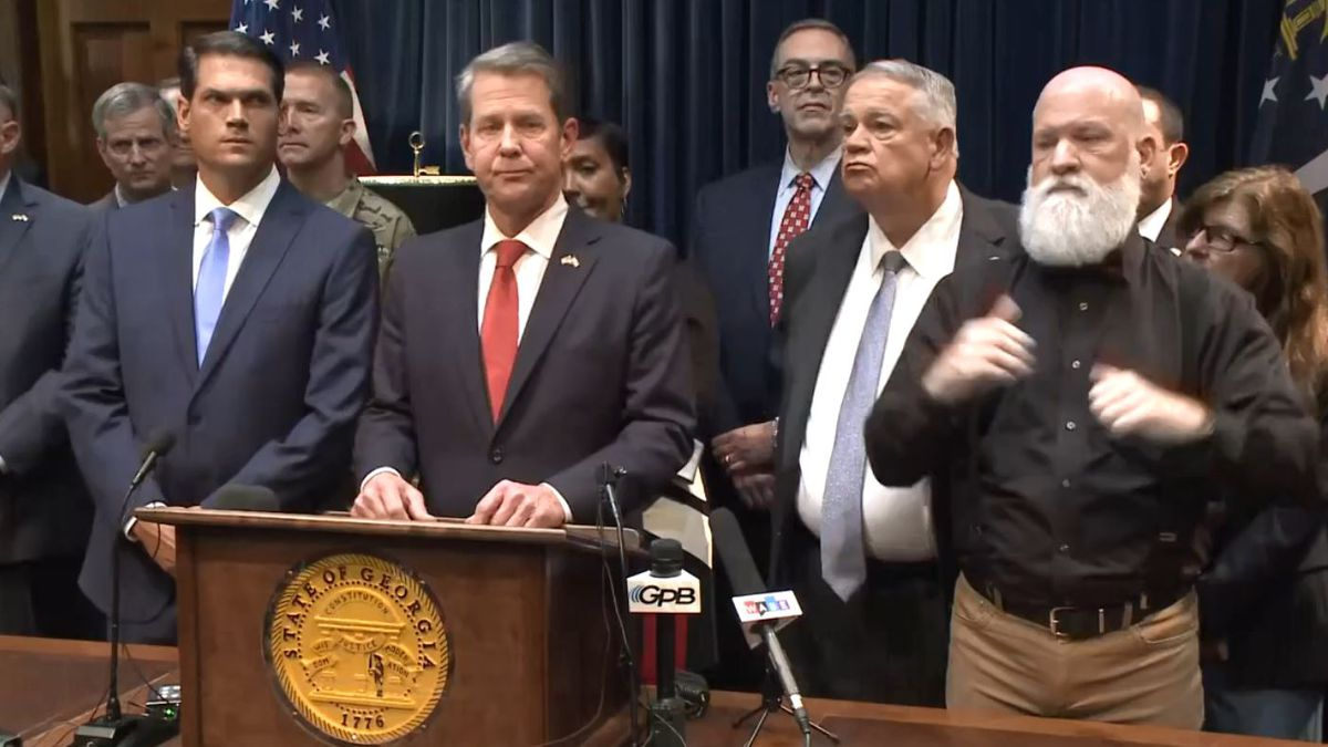 Gov. Brian Kemp spoke Thursday to update the public on the latest with coronavirus. (Source: WRDW)