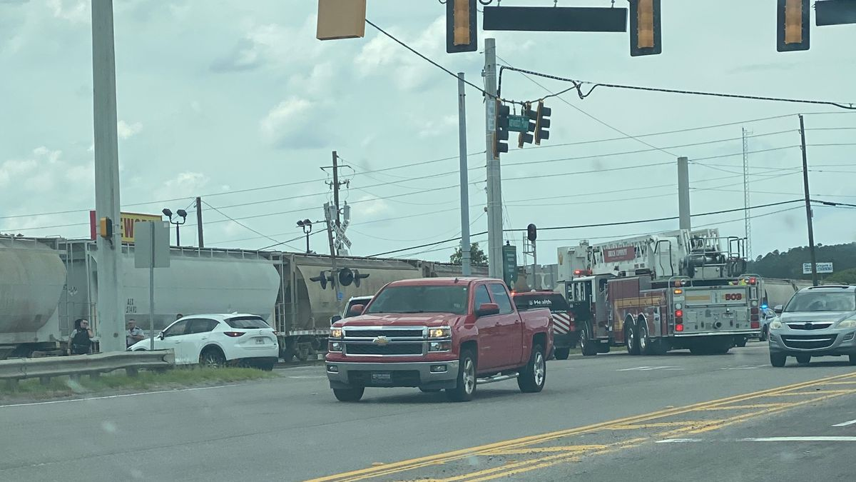Richmond County dispatch confirms deputies are on the scene of an accident between a train and...