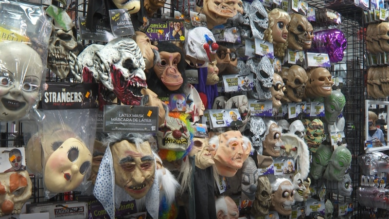 Customers face difficulties finding Halloween costumes as stores deal with supply chain crisis