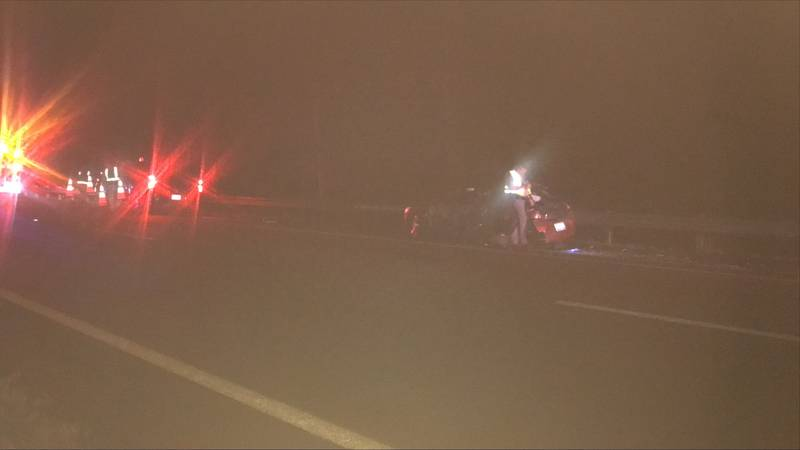 News 12 in on the scene of an accident with injuries involving an 18-wheeler.