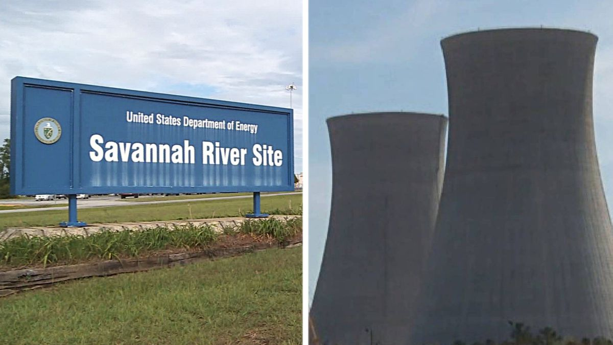 From left:The Savannah River Site and Plant Vogtle
