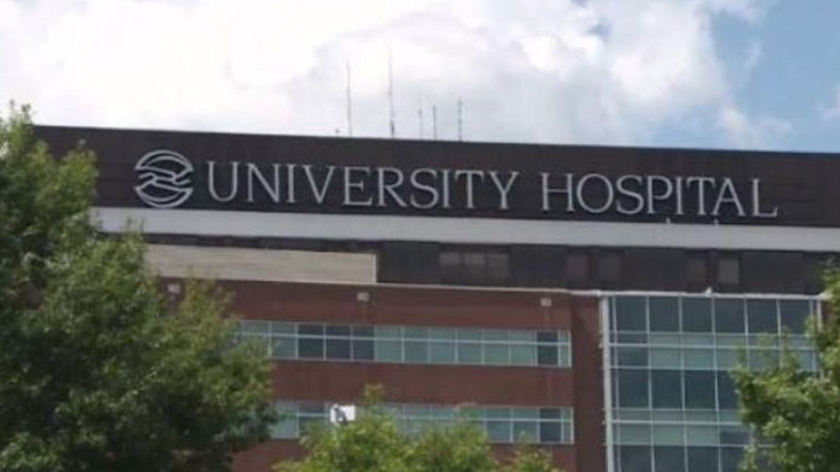 The woman is suing University Hospital in Augusta, GA.