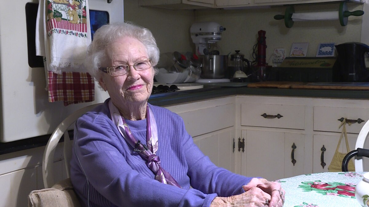 88-year-old Mary Radford was robbed by two men pretending to be utility workers. (Source: WRDW/WAGT)
