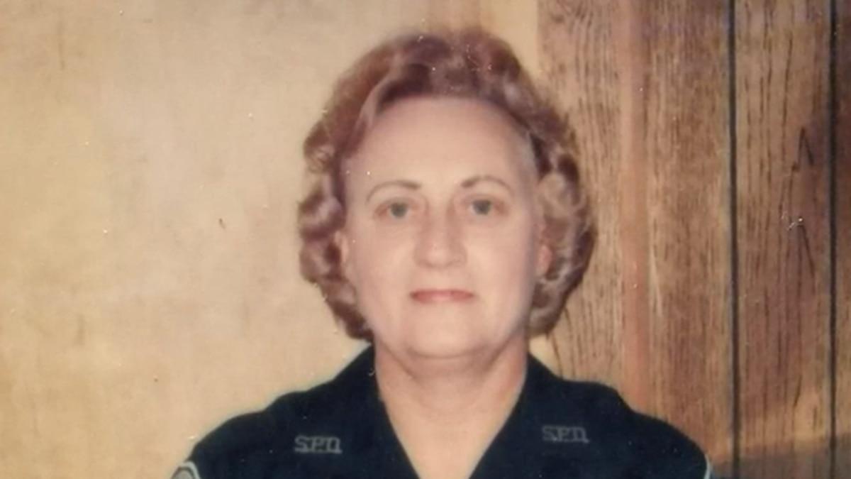 Remembering Allonia Haisten Ginn, SPD's first female officer. (Source: WTOC)