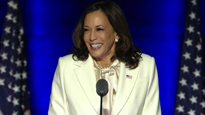 She will be the first woman and woman of color to hold the office.